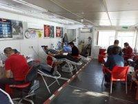 Şuhut'ta 'Kan Ver Afyon' kampanyasına büyük ilgi