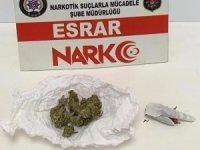5 ayrı narkotik operasyonunda 2 tutuklama