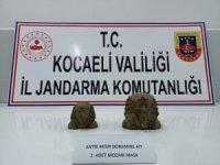 Kocaeli'de tarihi eser operasyonu: 2 gözaltı