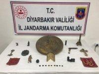 Diyarbakır'da tarihi eser kaçakçılığı operasyonu: 26 eseri 500 bin liraya satmak istediler