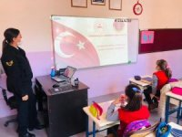 Jandarmadan öğrencilere kişisel güvenlik eğitimi