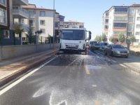 Malatya Büyükşehir'den il genelinde hijyen ve temizlik çalışması