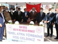 Erciş'te Ağız ve Diş Sağlığı Merkezi'nin temeli atıldı