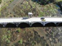 Tunca Nehri'nde kirlilik ve kuraklık havadan görüntülendi