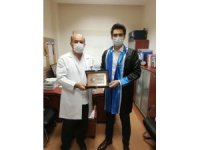 Bilecikli genç doktor adayının başarısı