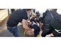 Başkent'te alacak verecek kavgasında kan döküldü