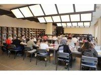 Kütüphanelere öğrencilerden yoğun ilgi