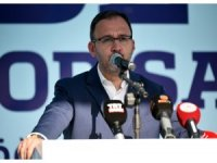 """Bakan Kasapoğlu: """"Yüzme bilmeyen 1 milyon kişiyi havuzlarla buluşturacağız"""""""