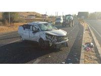 Elazığ'da trafik kazası:3 yaralı