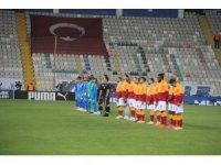 Süper Lig: BB Erzurumspor: 1 - Galatasaray: 1 (İlk yarı)