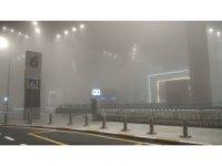 İstanbul'da etkisini gösteren sis kartpostallık görüntüler oluşturdu
