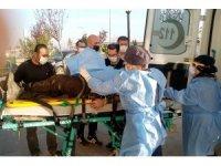 4 metre yükseklikten düşen maden işçisi ağır yaralandı