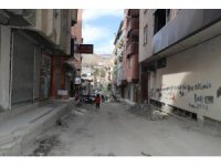 Hakkari'de yol asfaltlama hazırlığı