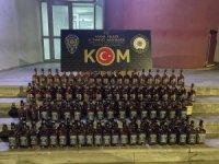 Adana'da 220 şişe sahte içki ele geçirildi