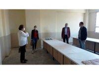 İl Milli Eğitim Müdürü Dikici Alaşehir'de incelemelerde bulundu