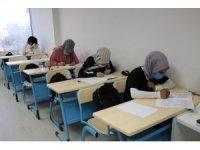 Hedefleri için ilk deneme sınavına girdiler