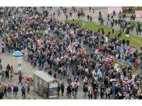 Lukaşenko'ya verilen istifa süresinin dolması ile Belarus sokakları yeniden karıştı