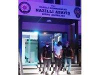 Nazilli'de incir hırsızı yakalandı
