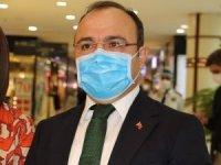Vali Yırık, maske için teşekkür etti, sosyal mesafe için uyardı