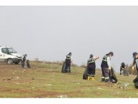 Yamaç paraşütü ve piknikçilerin alanı her hafta temizleniyor