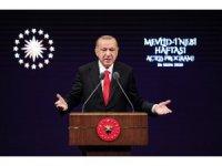 """Cumhurbaşkanı Erdoğan:""""Şartlar ne olursa olsun mazlumun yanında olmak zorundayız"""""""