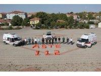 Kırşehir'de, ambulans şoförleri eğitim alıyor
