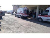 Kulp'ta motosiklet ile otomobil çarpıştı: 1 yaralı