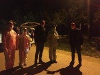 Başkan Soydan karantinaya alınan Ahmetler köyünü ziyaret etti