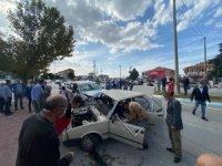 Burdur'da trafik kazası: 2'si çocuk 7 yaralı