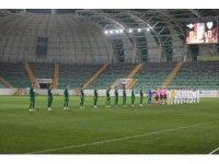 TFF 1. Lig: Akhisarspor: 1 - Bursaspor: 1 (İlk yarı sonucu)