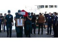 Çanakkale'de Şehit Gümrük Memuru için tören düzenlendi