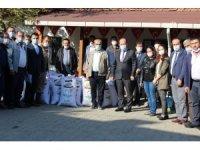 Çiftçilere İtalyan çim tohumu dağıtıldı