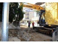 Nazilli Yeşil Mahalle'de yol onarım çalışmaları başladı