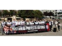 Macron Yozgat'ta protesto edildi