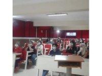 Burhaniye'de afet bilinci eğitimleri devam ediyor