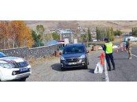 Kars'ta 108 araca 52 bin lira ceza kesildi