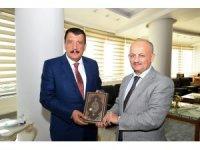 Başkan Gürkan, Müftü Işıldar'ı ağırladı
