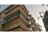 Söke'de cam balkon ustası elektrik akımına kapıldı
