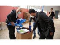 Tunceli'de okullara spor malzemesi desteği