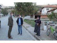Mahalle ziyaretleri yapıp vatandaşları Korona virüs konusunda uyardı