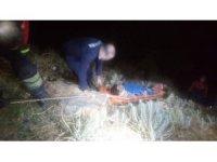 Yamaç paraşütü ile Pamukkale'yi havadan görmek isterken yere çakıldı