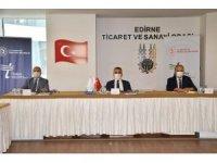 TRAKYAKA Yönetim Kurulu toplantısı Edirne'de yapıldı