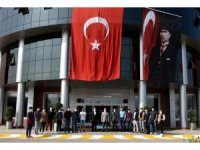 Uluslararası öğrenciler Rektör Ünal'ın Cumhuriyet Bayramı'nı kutladı