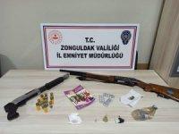 Zonguldak'ta uyuşturucu ticareti operasyonu: 2 gözaltı