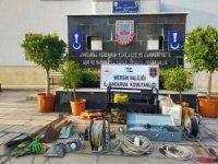 Kaçak kazı yapan şüpheliler çadırda yakalandı