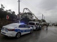 Milas'ta iş kazası: 1 yaralı