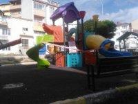 Çocuk parkları boş kaldı