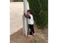 Elazığ'da 2,5 yaşındaki Mila'nın duygulandıran bayrak sevgisi