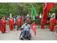 Huzurevi Mehter Takımı ilk gösterisini yaptı