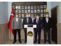 Başkan Çimen'den Bayburt Belediye Başkanı Pekmezci'ye ziyaret